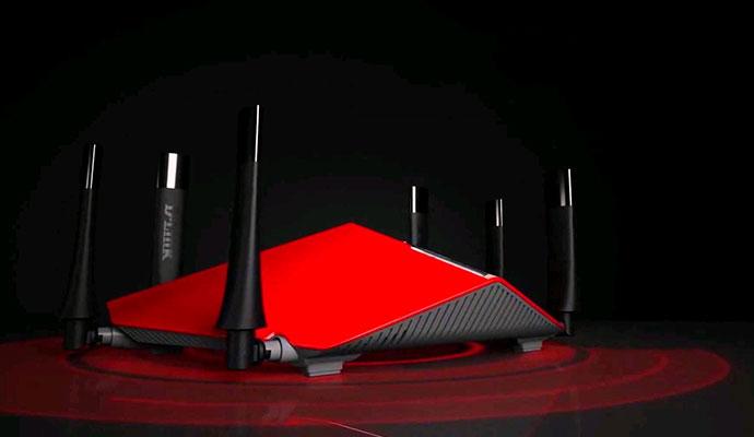 D-Link AC3200 Ultra Wi-Fi Router (DIR-890LR)
