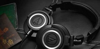 ATH-M50x Professional Studio Monitors - Best headphones of 2020