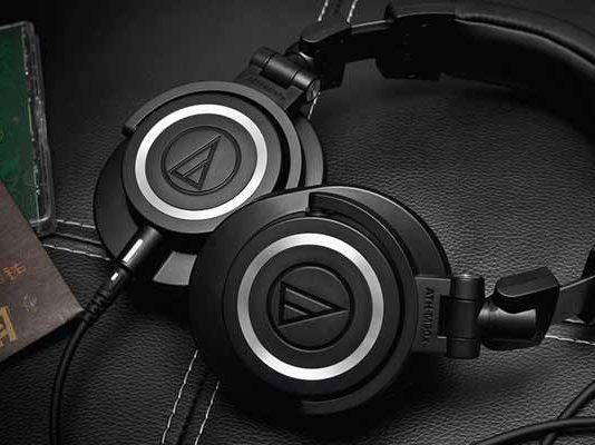ATH-M50x Professional Studio Monitors - Best Over-Ear headphones of 2017