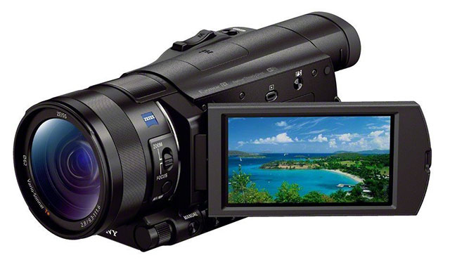 Sony-FDR-AX100B-4K-Video-Camera-Top-10-Best-HD-Camcorders-2015