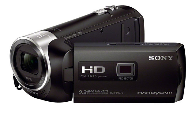 Sony-HDRPJ275B Video Camera - Top 10 Best HD Camcorders 2021