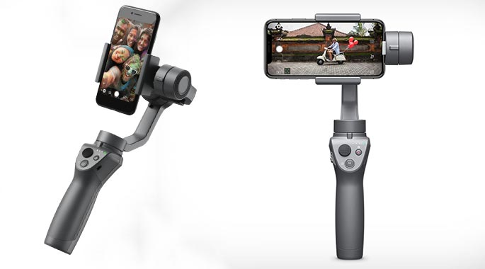 DJI Osmo Mobile 2 - iPhone photography accessories