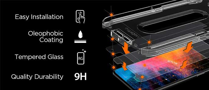 Spigen tempered glass for iPhone - Accessories to protect your iPhone in 2021