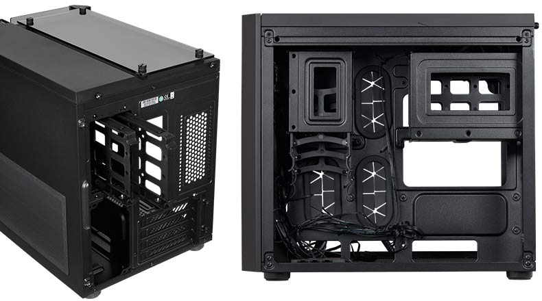 Corsair Crystal 280X RGB - RGB Compact PC case internal Airflow