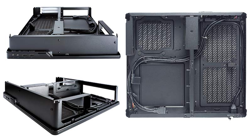 Fractal Design Node 202 - compact media station PC case - internal design