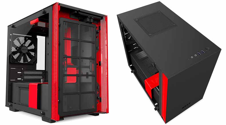 NZXT H200i -  Top, front and side panel cooling