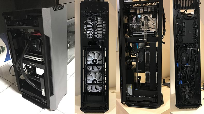 Phanteks evolv shift - Cable management, cooling and internal case design - Mini ITX PC build