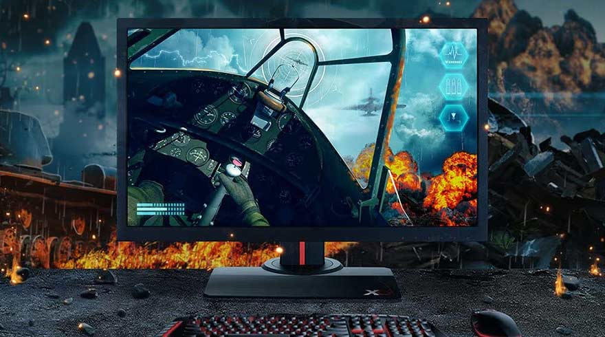 ViewSonic XG2530 25 Inch 1080p, 240Hz Monitor for Gaming with AMD RX5700 XT