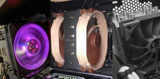 Best CPU Coolers For Ryzen 5 3600 and 3600x