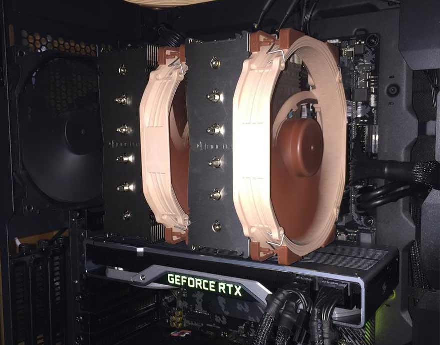Noctua NH D15 Air Cooler with AMD Ryzen 5 3600