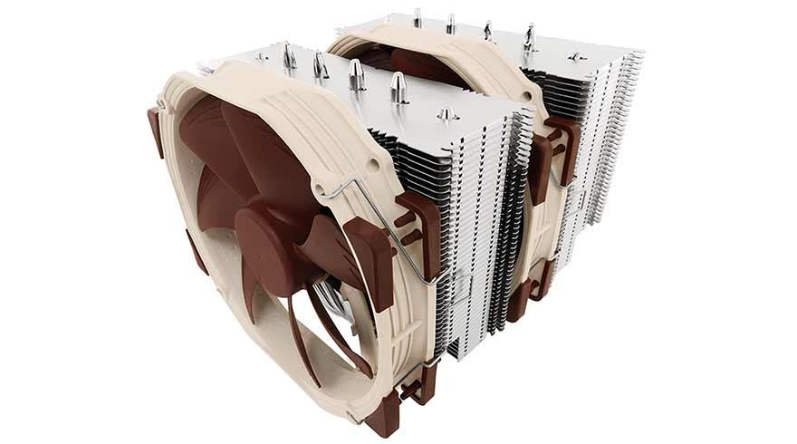 Noctua NH D15 CPU Air Cooler for AMD Ryzen 5 3600 and 3600x