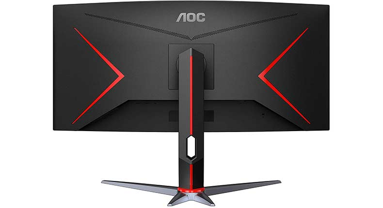 AOC CU34G2X Gaming monitor back mount and Stand