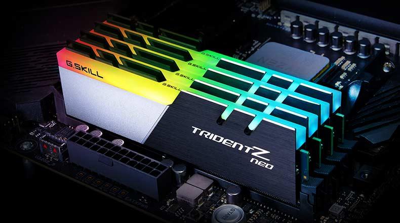 G. Skill Trident Z Neo Series 32GB 3600 MHz DDR4 C16 Memory kit for Ryzen 5900x