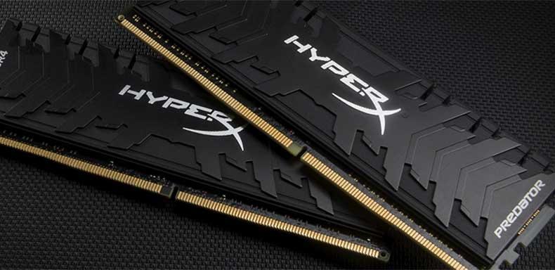 HyperX Predator Black 16GB 3200MHz Memory kit for AMD Ryzen 5950X and 5900X