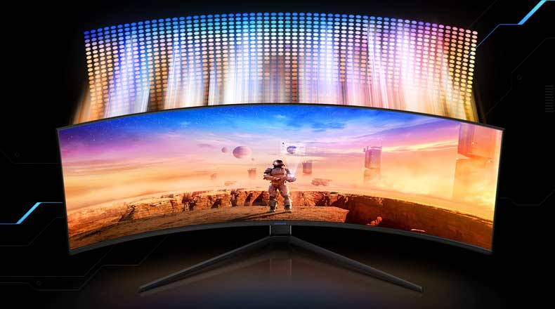 Samsung Odyssey G9 - 49 Inch Ultra-Wide Gaming Monitor for RTX 3090